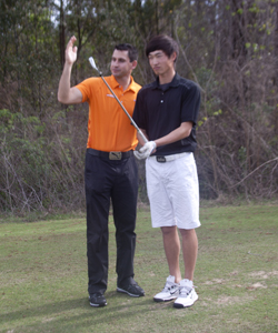 Gary Gilchrist Golf Academy mental training - visualization