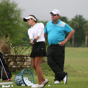 Gary Gilchrist coaching Summer Camp at GGGA
